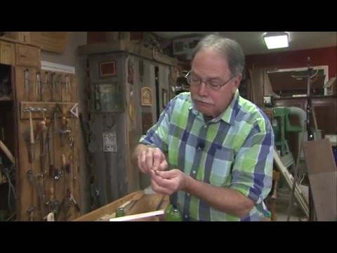 The American Woodshop Season 23 Web Extra: Sharpening Carving Tools