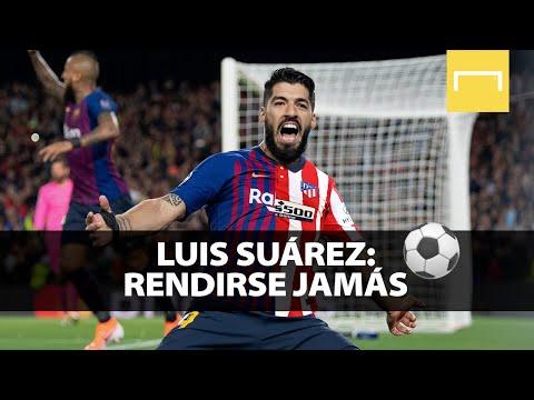 Luis Suárez: rendirse JAMÁS - Campeón con el Atlético de Madrid