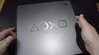 Unboxing PlayStation 4 - Days of Play Limited Edition console