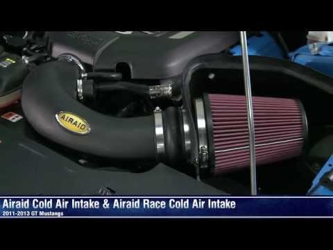 Mustang Airaid Cold Air Intake and Race Cold Air Intake (11-14 GT) Review
