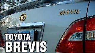 видео Toyota Brevis 2001 год