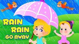 Дождь дождь уходи | песня дождя | песня дождливого сезона | детская песня | Rain Rain Go Away