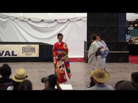 Kimono Fashion Show at 2016 San Diego County Fair - Asian Festival