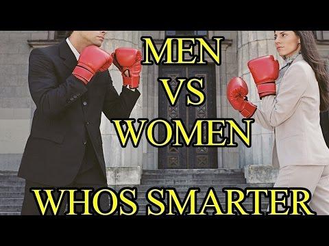 The Man Show - Men Vs Women Who's Smarter?