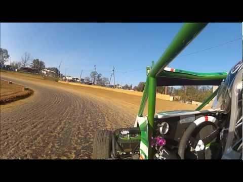 Sidewinder Sprints Wingless Feature race @ Shippensburg Speedway 10/13/12