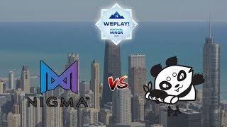 NIGMA vs FIGHTING PANDAS - Bukovel Minor 2020 Dota 2