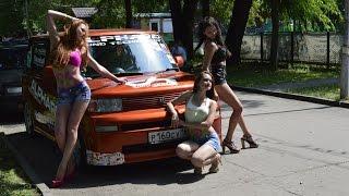 Невеликий огляд Toyota bb Team Alphard Russia