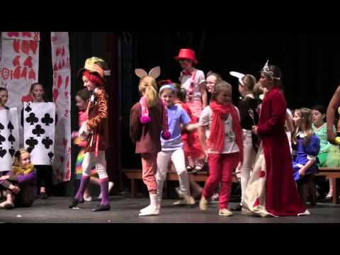 Grade 4 Play  - Alice in Wonderland