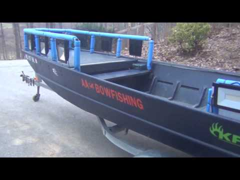 Our Bowfishing Boat Build