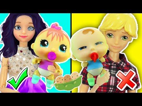 Marinette y Adrien adoptan bebes | Pea Pod Babies