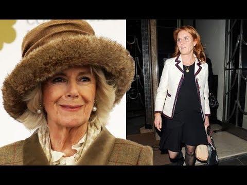 Is Camilla friends with Sarah Ferguson, Princess Diana's friend?