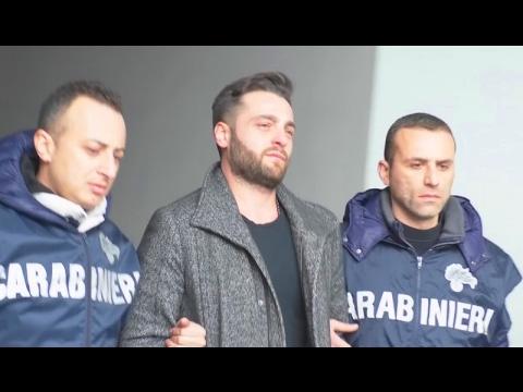 """Casal di Principe (CE) - Camorra: arrestato Walter Schiavone, figlio di """"Sandokan"""" (07.02.17)"""
