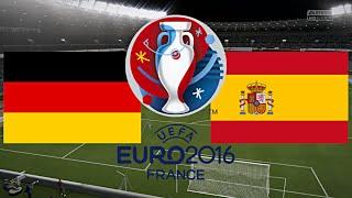 DEUTSCHLAND gegen SPANIEN - EM 2016 FRANKREICH | FINALE ◄GER #14►