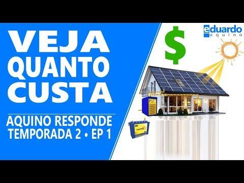 Energia Solar, Quanto Custa | Aquino Responde T2 • EP 1