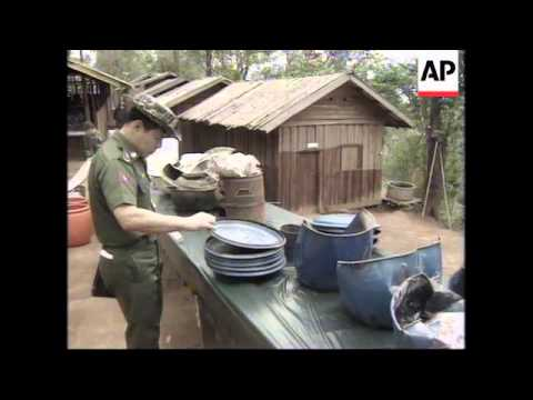 BURMA: GOVERNMENT CLAIMS THAT THAILAND IS SHELTERING DRUG BARON