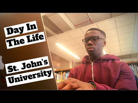 Day In the Life of a Pharmacy Student | St. John's University