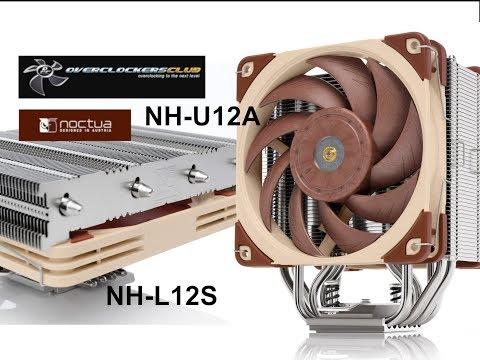 Noctua NH-U12A & NH-L12S CPU Coolers Review