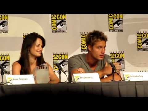 Smallville Comic Con Panel 2010 Justin Hartley HD