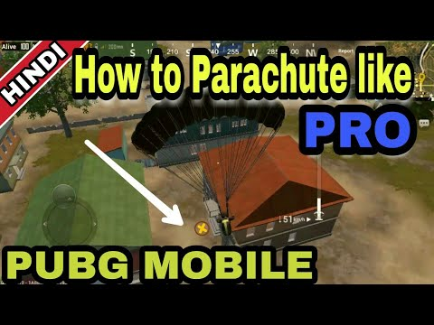 Guide : pubg mobile (HINDI) | How to Parachute in pubg mobile | tips and  guide for parachute in pubg