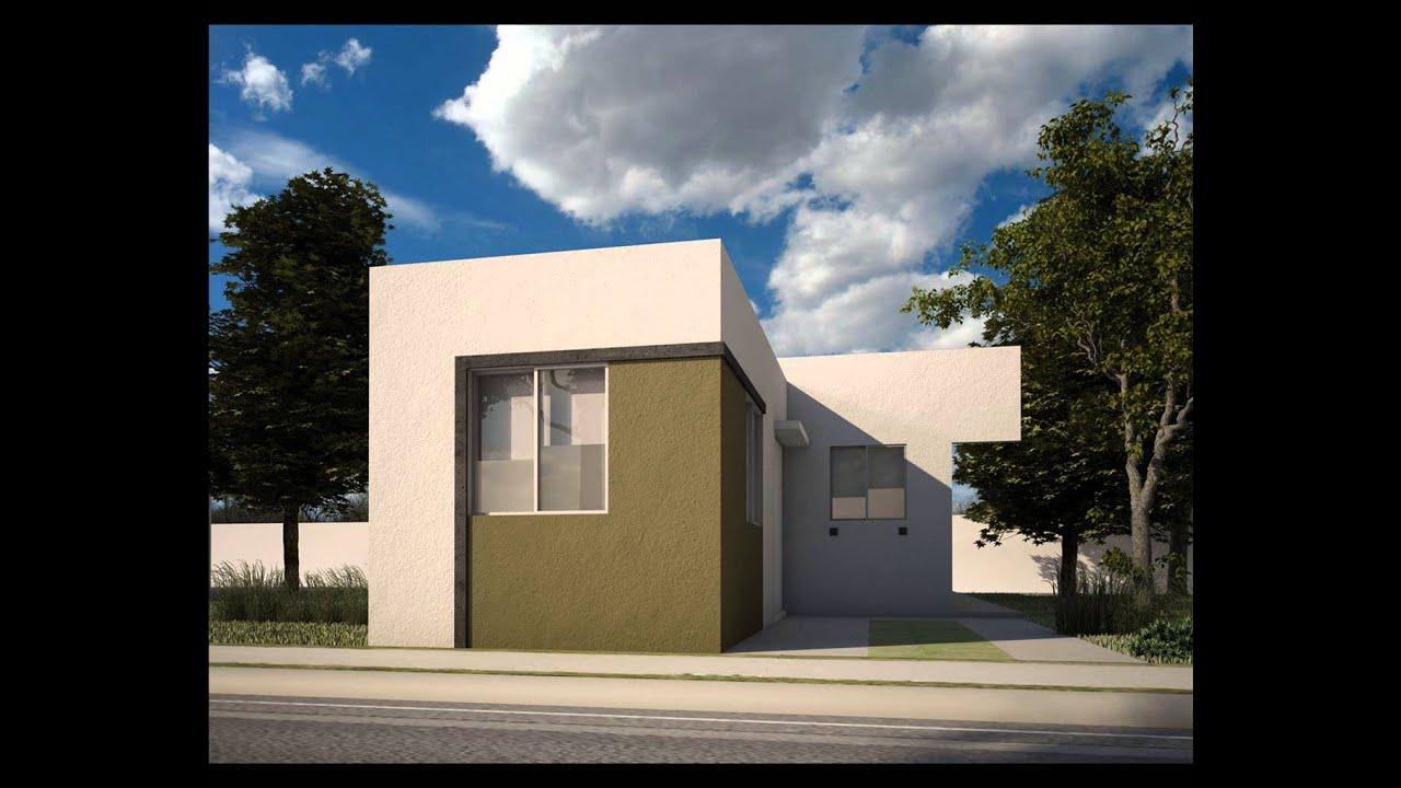 Fachadas de casas de un piso youtube for Fachadas de casas modernas 1 piso