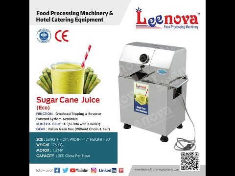 SUGARCANE JUICE MACHINE ( ECO ) - LEENOVA