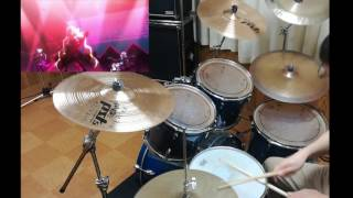SHOW BY ROCK!!# 【x旋律 Schlehit Melodie】 BUD VIRGIN LOGIC 叩いてみた Drum Cover