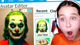MAKING THE JOKER A ROBLOX ACCOUNT!!