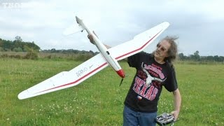 "JEFF FLYING HIS RC ""MINI MOA"" - ""DEANOMOA"" EPO EP GLIDER AT SPOCKFEST - 2014"