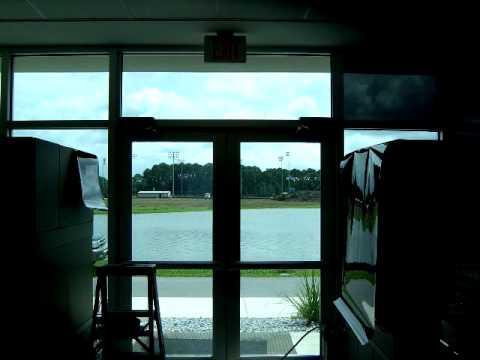 Window Graphics Panama City College tint job