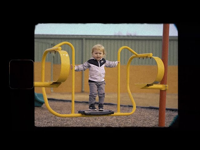 Bodhi @ the Playground / Super 8 Film Look / March 1, 2021