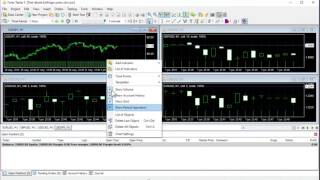Cómo hacer un proyecto nuevo para varios pares en Forex Tester 3
