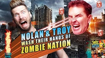 Nolan North and Troy Baker Wash Their Hands of Zombie Nation