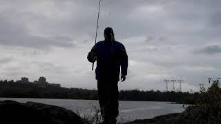 О. Хортиця . Рибалка в ''ПАГОРБА ''. 06.10.19 р. Запоріжжі .