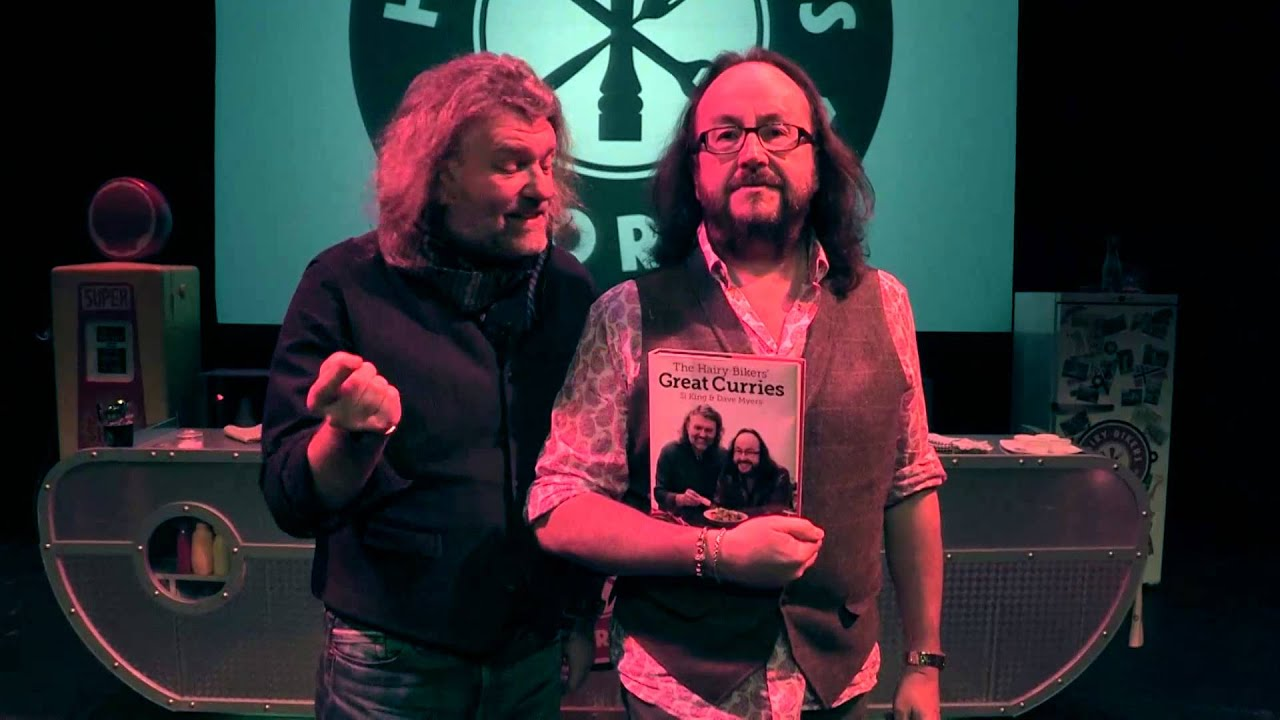 the hairy bikers introduce their new great curries book! - youtube
