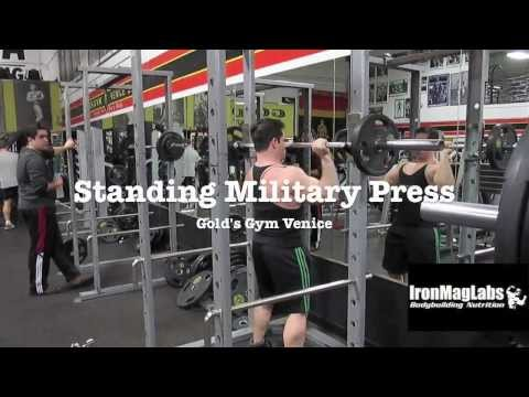 Standing Military Barbell Presses