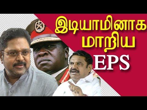ttv dinakaran cartoonist bala arrested ttv dinakaran condemns eps tamil news tamil news today redpix