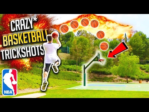 CRAZY F.A.Z.E. BASKETBALL TRICKSHOTS!!