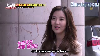 vuclip [ENGSUB] Running Man Episode 293 Seohyun SNSD Girl's Generation Support Kim Jong Kook
