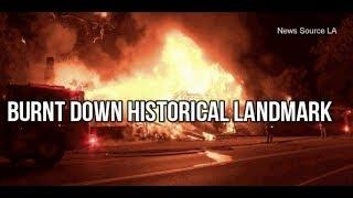 BURNED DOWN 1934