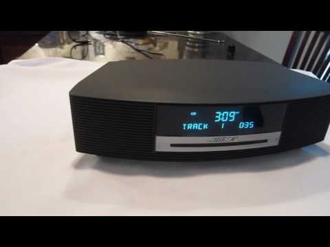 Bose Wave Radio Demo