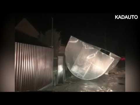 Некоторые последствия шторма в Калининграде. СНТ \