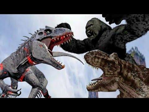 King Kong Vs Indominus Rex (Part 2) - Ruslar.Biz