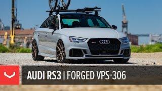 Audi RS3 | Vossen Forged VPS-306 Wheels | Cali Wheels