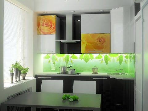 кухни 9 кв. м фото