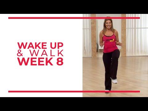 WAKE UP & Walk! Week 8 | Walk At Home YouTube Workout Series