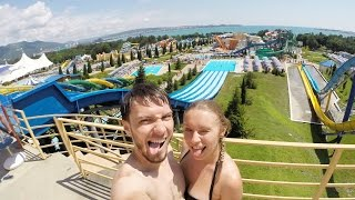 видео Лучший аквапарк Крыма где находится? В чем его преимущества?