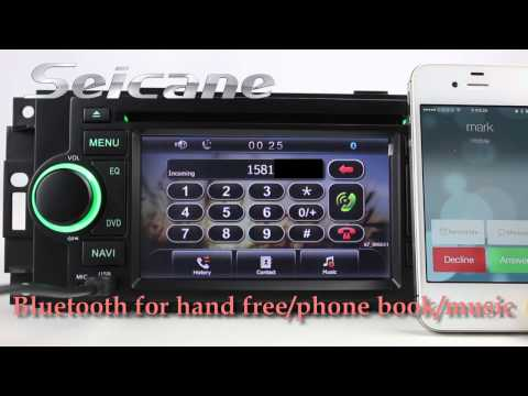 Multifunction 2002-2008 Dodge RAM Pickup Aftermarket Radio Stereo Navigation System With MP3 Ipod DV