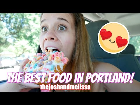 The BEST Food In All Of Portland Oregon!