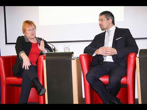 Panel Discussion with Tarja Halonen (Former President of Finland)