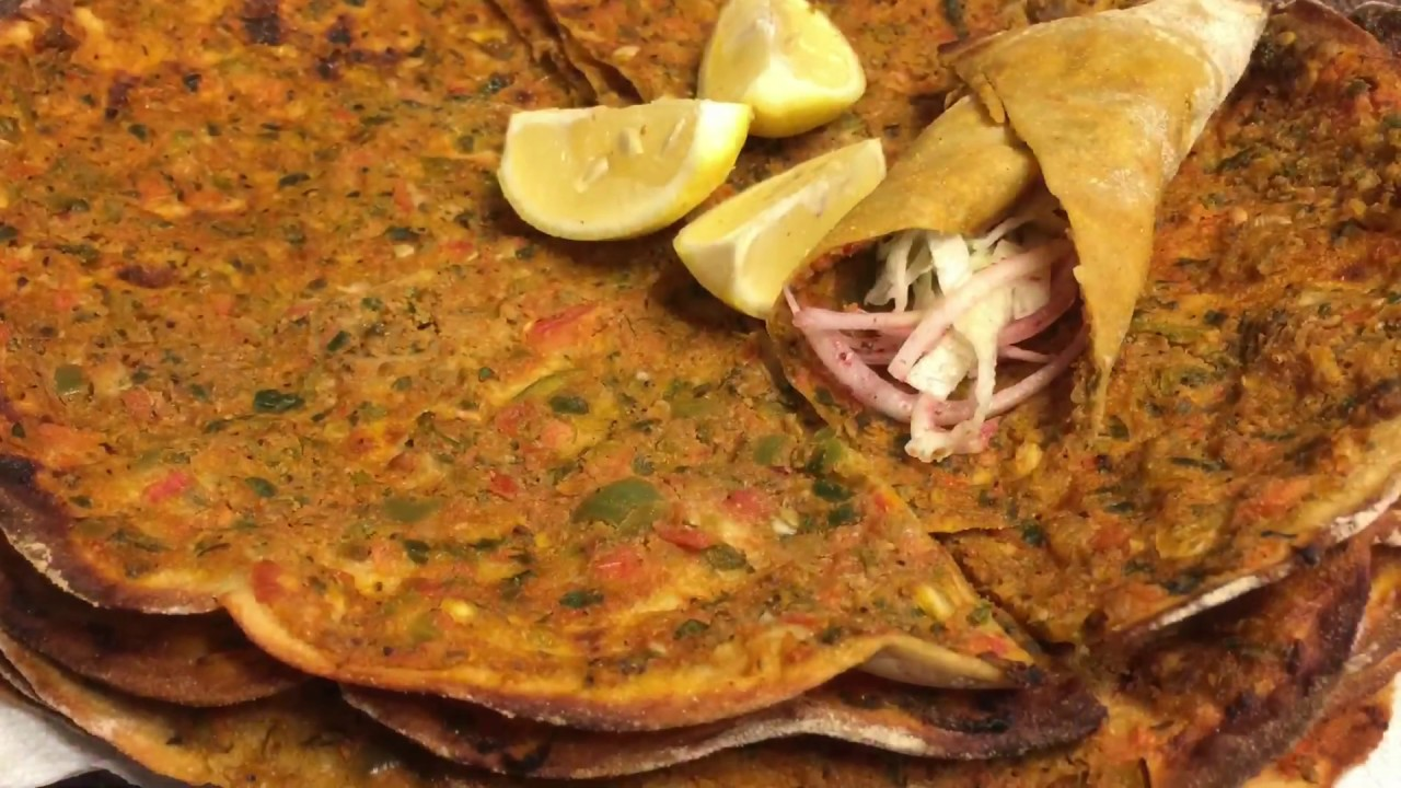 Famous Home made TURKISH (LAHMACUN) Recipe